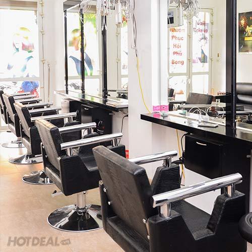Sử Dụng Dịch Vụ Hấp Phục Hồi Trọn Gói Tại Hua Hair Salon