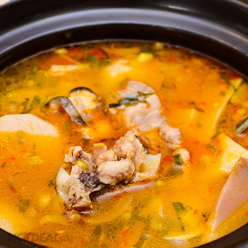 Set Cá Ngạnh Các Món Cho 6N Tại NH Gold Malt Trung Yên