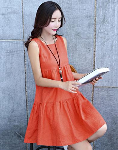 Đầm Oversize Sắc Màu