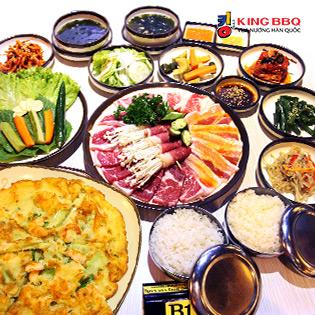 Hệ Thống King BBQ - 01 Trong 03 Set Nướng Hàn Quốc Tại Bàn Cho 02 Người - Duy Nhất Chỉ Có Tại Hotdeal!