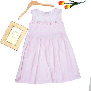 Đầm Thun Phối Ren Janta Cho Bé