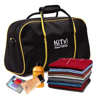 Túi Du Lịch Kitty 1157 Màu Vàng