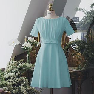 Đầm Marthar Cổ Xếp