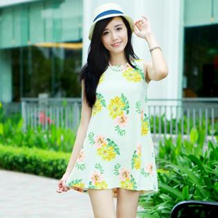 Váy Hoa Engier Thời Trang