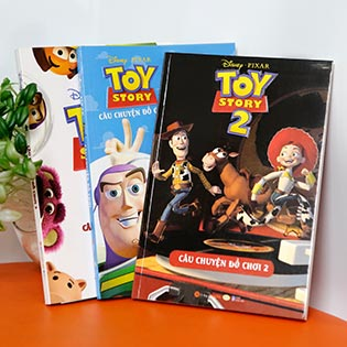 Combo Truyện Disney: Câu Chuyện Đồ Chơi