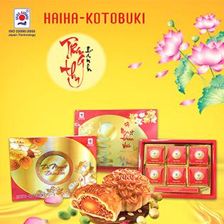 Hộp 6 Bánh Trung Thu Dạ Nguyệt Hải Hà Kotobuki - Nhiều Điểm Đổi Bánh
