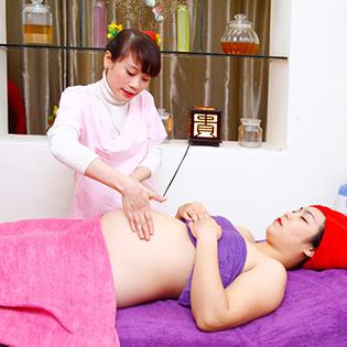Spa Việt Á - Massage Body Thư Giãn Toàn Thân Kết Hợp Ngâm Chân Thuốc Bắc Cho Bà Bầu