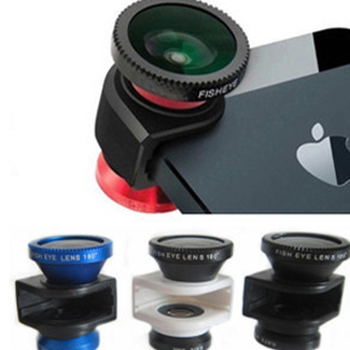 Ống Kính Olloclip 3 In 1 Cho Iphone 5
