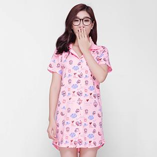 Đầm Ngủ Pyjama Doremon