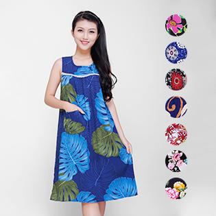 Đầm Yếm Hoa Viền Ren