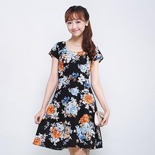 Đầm Hoa Lady Thanh Lịch