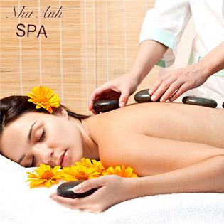 Massage Body, Chạy Đá Nóng Thư Giãn Toàn Thân Tại Như Anh Spa