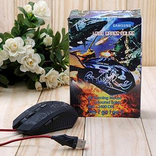 Chuột Quang Chuyên Game H200 Có Đèn Led Đổi Màu Liên Tục