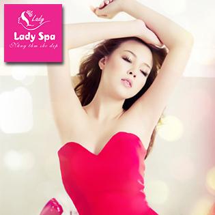 Trọn Gói 6 Buổi Triệt Lông Nách/Mép/Cằm Công Nghệ OPT - Lady Spa