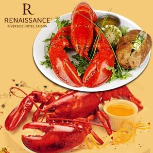 International Buffet Tối Hải Sản Tại Renaissance Riverside Sài Gòn 5*