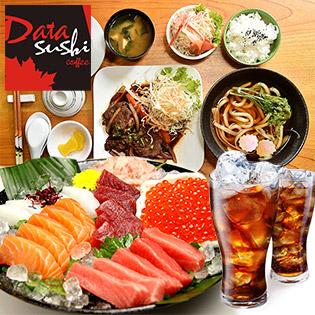 Set Sashimi/ Sushi/ Mì Udon/ Mì Hải Sản + Nước Ngọt Tại Data Sushi