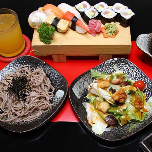 01 Trong 03 Set Menu Trưa Món Nhật - Nhà Hàng Mặt Trời Đỏ Akataiyo