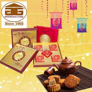 Hộp 4 Bánh Trung Thu Trăng Vàng Tài Lộc Đỗ Thế Gia