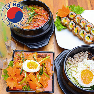 Set Ăn Hàn Quốc Cho 2N Tại Hệ Thống Ly Hoa Foods