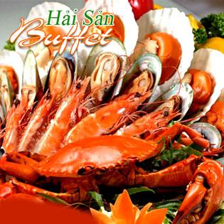 Buffet Tối Hơn 60 Món Hải Sản + Ốc + Nướng + Xiên Que (Bao Gồm Nước)- NH Tân Hoa Cau