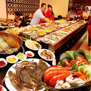 Buffet Tối Hải Sản Không Giới Hạn, Lẩu Và Món Nướng - Nét Việt Buffet