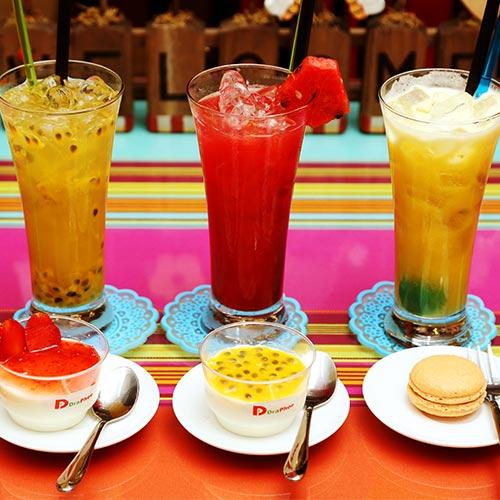 1 Phần Bánh Ngọt + 1 Ly Nước Tại Draphoe Cafe & Bistro - Mạc Đĩnh Chi tại Hồ Chí Minh