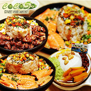 Hệ Thống CoCo5 Combo Xèo Xèo 8 Món + Kem Dừa Nướng Bangkok Cực Ngon, Giá Sốc