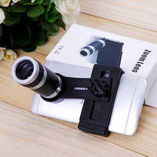 Ống Kính Đa Năng (Lens) Zoom XA 8X Cho Điện Thoại
