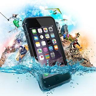 Case Điện Thoại Chống Nước, Chống Sốc Cho Iphone 6plus Bảo Vệ Tối Đa Cho Dế Yêu