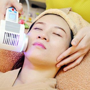 Masage, Hút Chì Tẩy Độc,Trẻ Hoá Da Mặt & Mắt Bằng Collagen Tươi