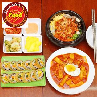 Set Ăn Hàn Quốc 2N Tại NH Gimbap Korea