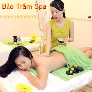 Massage Foot & Body Đá Nóng + Chăm Sóc Da Mặt Chạy C + Xóa Nhăn Tại Bảo Trâm Spa
