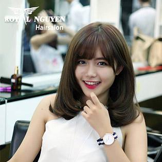 Trọn Gói Làm Tóc Đẹp Đẳng Cấp Tại Royal Nguyễn Hairstylist
