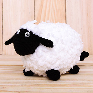 Cừu Bông Len Handmade Ngộ Nghĩnh Đáng Yêu