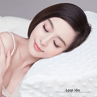 Gối Cao Su Non Điều Trị Ngáy Ngủ