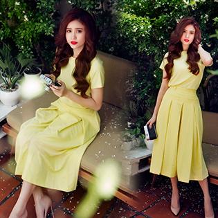 Set Quần Culottes + Áo Suông Kimberly