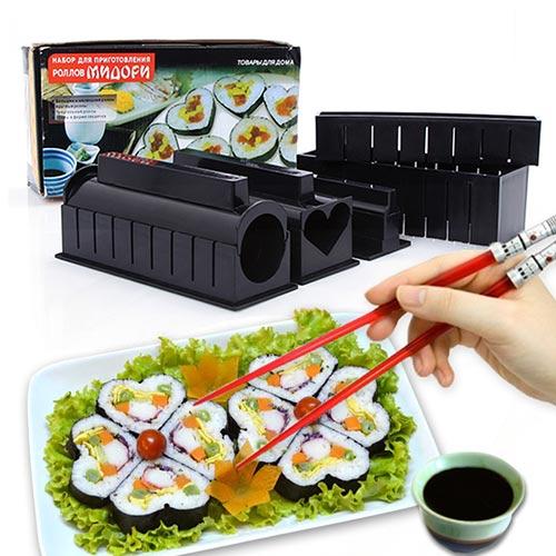 11 Món Làm Sushi Nhiều Hình Nhựa Cao Cấp