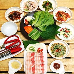 1 Trong 3 Combo Thịt Nướng Hàn Quốc Tại Bàn - Nhà Hàng Hàn Quốc Heo Đỏ