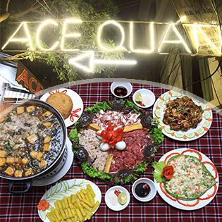 Nhà Hàng ACE – Set Ăn No Nê Kèm Lẩu Riêu Cua Bắp Bò Dành Cho 4 -6N