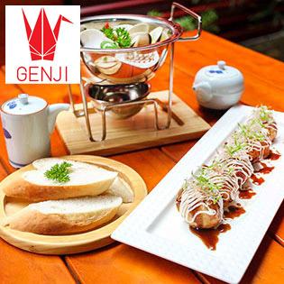 Ưu Đãi Đặc Biệt Soft Opening Tại NH Genji – Combo Cà Ri Nghêu Thái + Bánh Takoyaki