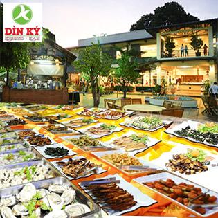 Buffet Tối Hải Sản, Lẩu, Nướng - Nhà Hàng Dìn Ký (thứ 3-CN)