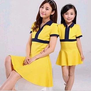 Đầm Mẹ Và Bé Phong Cách Thể Thao Năng Động