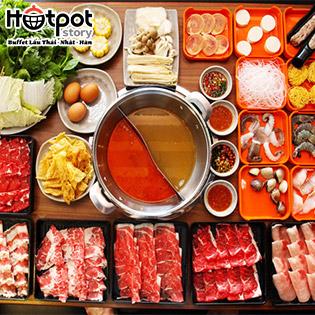 Hệ Thống Buffet Lẩu Thái, Nhật, Hàn Tại Hotpot Story