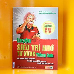 """Sách """"Luyện Siêu Trí Nhớ Từ Vựng Tiếng Anh"""""""