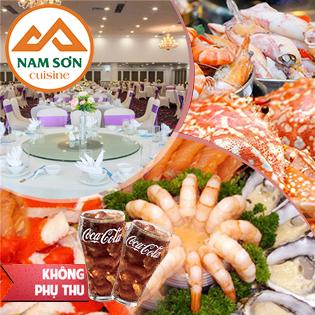 Buffet Hải Sản Cao Cấp  - Nhà Hàng Nam Sơn