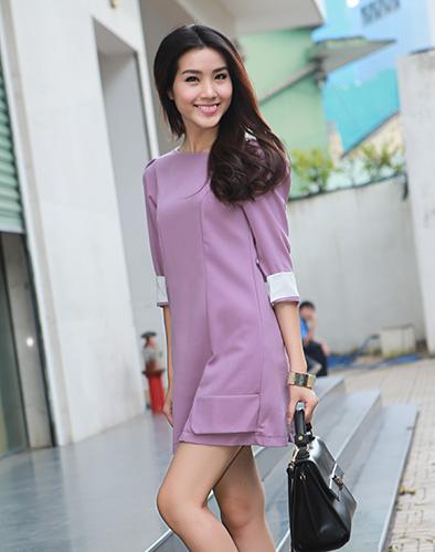 Đầm Suông Hàn Quốc Cao Cấp