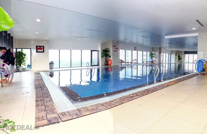 3 Lượt Bơi Nước Nóng – Xông Hơi – Tắm Sục – Trà Gừng