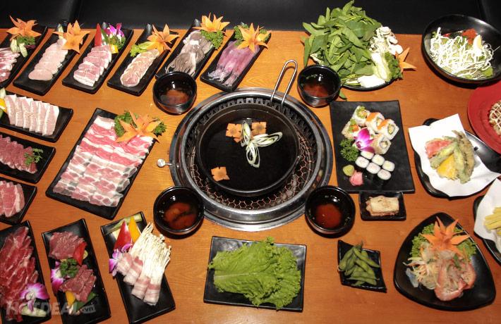 Buffet Nướng Lẩu Không Khói Tại NH Yaki - Time City