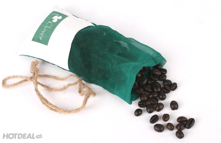 Túi Thơm Hạt Cafe Nguyên Chất Clover