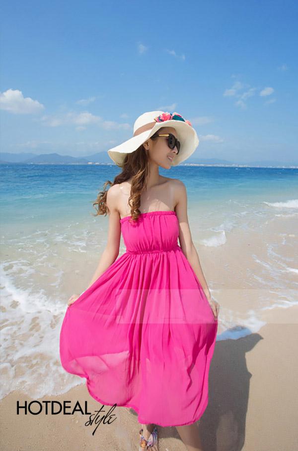 Đầm Maxi Đi Biển 6 In 1